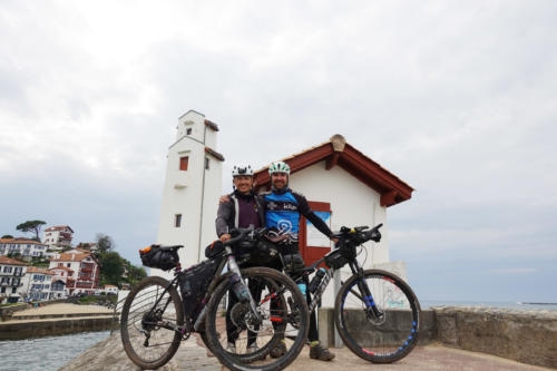 IT2019: day 9 / Lubos and Nicola arriving at Saint-Jean-de-Luz