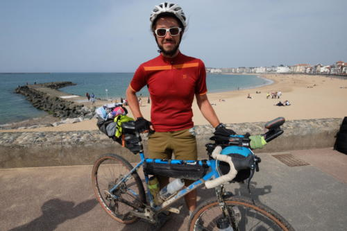 IT2019: day 10 / Alexandre arriving at Saint-Jean-de-Luz