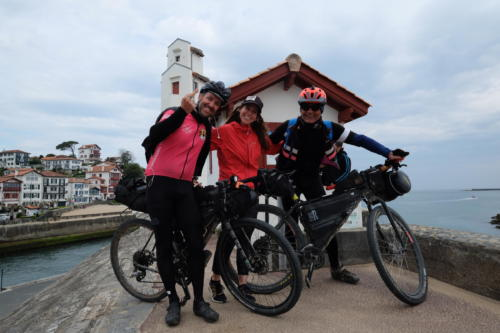IT2019: day 11 / Piero and Stefano arriving at Saint-Jean-de-Luz